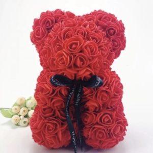 Rosenbär stehend Rosesbear